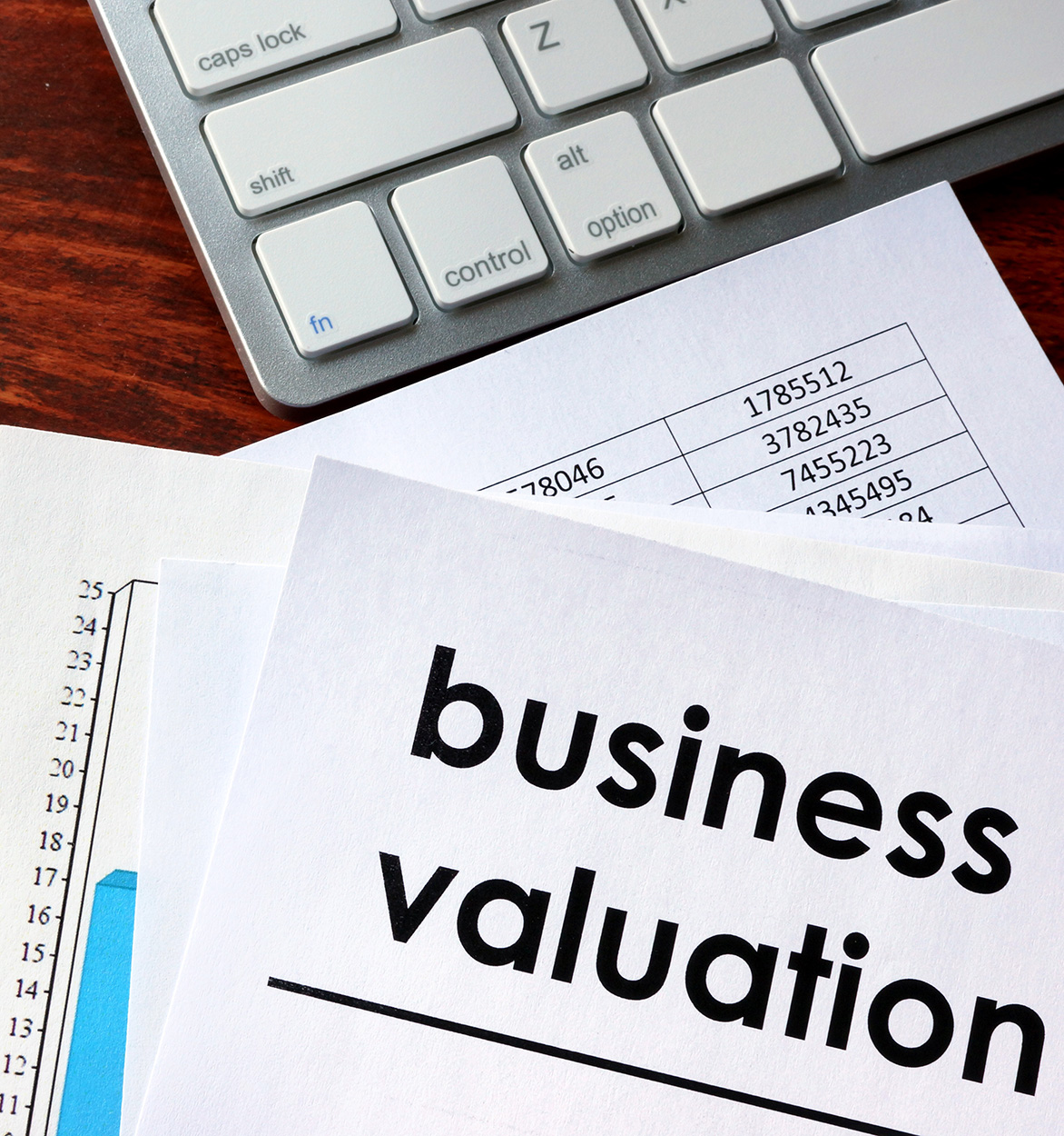 Business valuation - Tax & Advisory Services